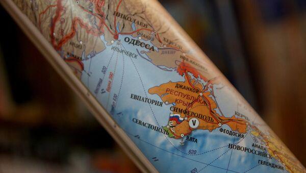 Mapa de Crimea - Sputnik Mundo