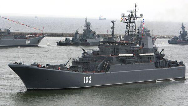 Buque ruso Kaliningrado - Sputnik Mundo