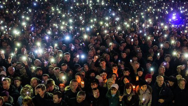 La mayoría de los ucranianos no quiere participar en protestas - Sputnik Mundo