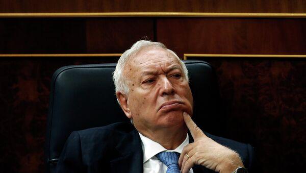 José Manuel García-Margallo, ministro de Asuntos Exteriores de España - Sputnik Mundo
