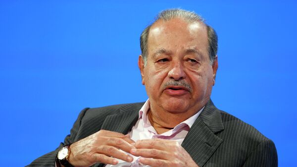 Carlos Slim, magnate mexicano (archivo) - Sputnik Mundo