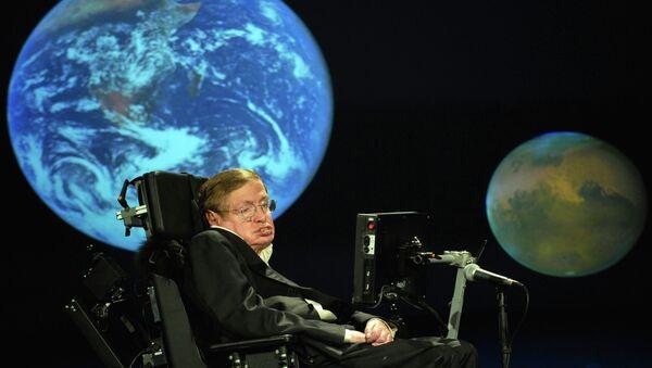 Стивен Хокинг - Sputnik Mundo