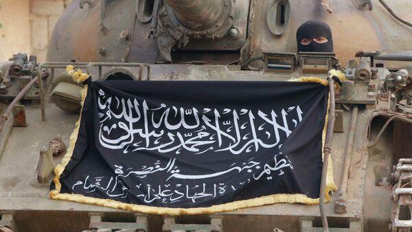 Combatiente del Frente al Nusra - Sputnik Mundo