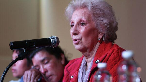 Estela de Carlotto, presidenta de la organización Abuelas de Plaza de Mayo - Sputnik Mundo