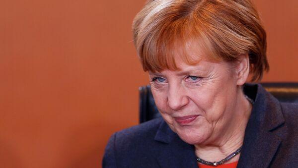 Angela Merkel, canciller alemana (archivo) - Sputnik Mundo