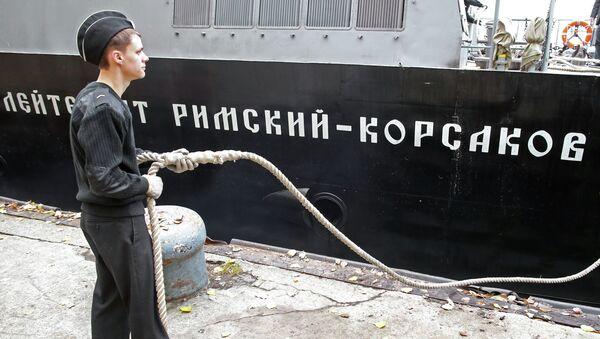 Lancha de desembarco Teniente Rimski-Kórsakov - Sputnik Mundo