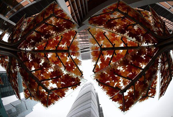 La cúspide de la Torre Federación en Moscú podrá inclinarse por el viento - Sputnik Mundo